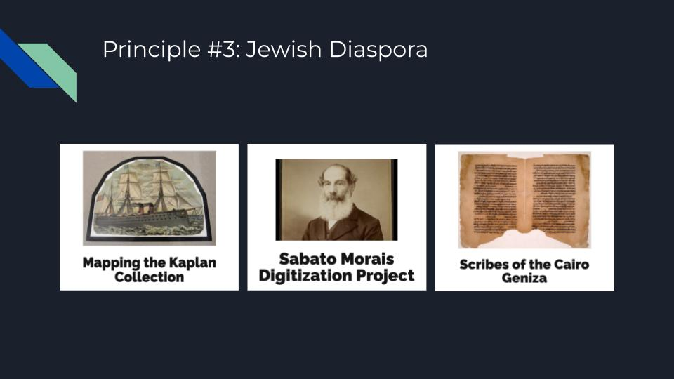 Project Examples of Diaspora